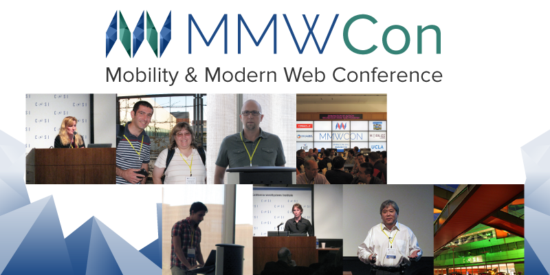 Logo and speakers from past MMWCon