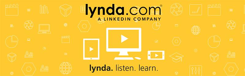 Lynda.com a LinkedIn company. lynda. listen. learn.