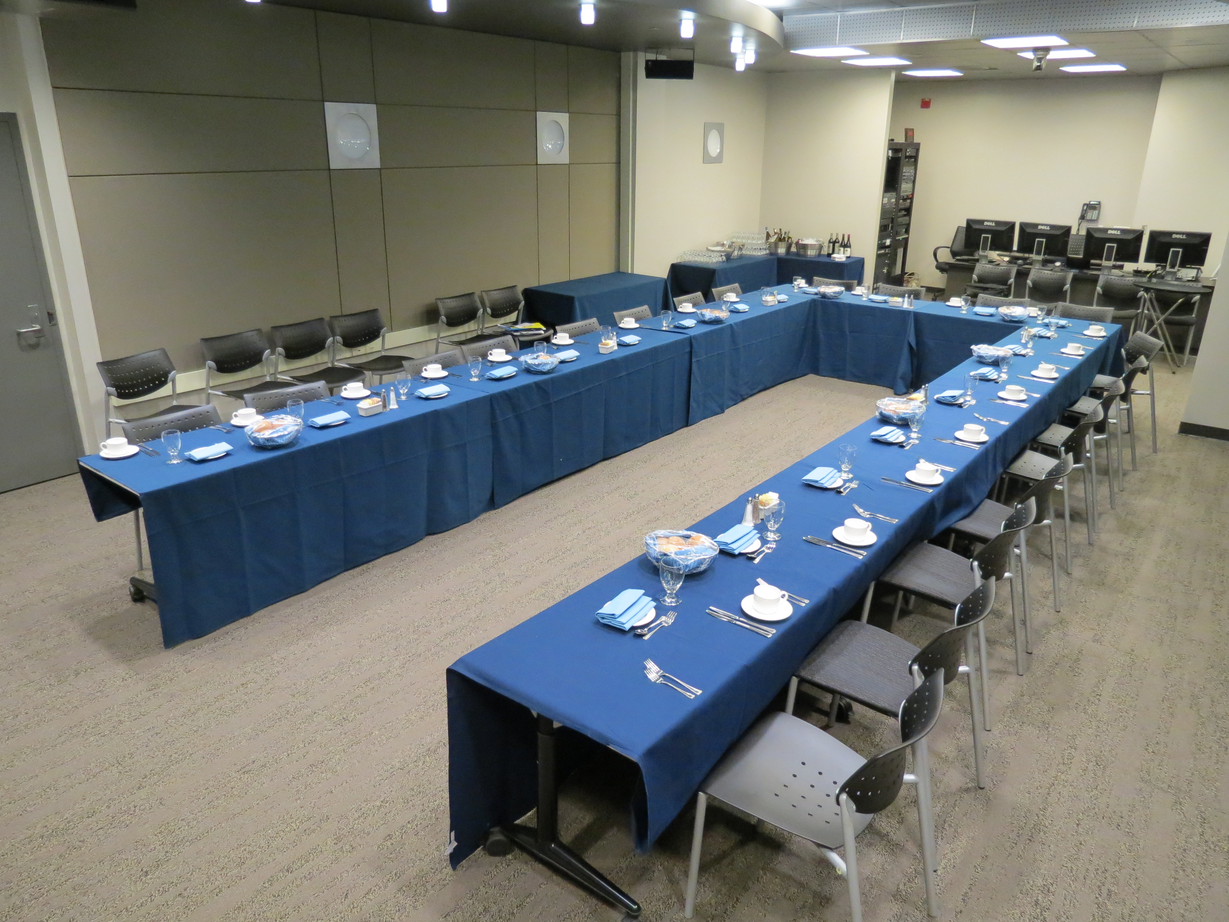 IDRE Portal Room Configurations Office Of Information Technology - Conference table covers