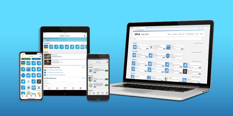 UCLA Mobile s a mobile portal