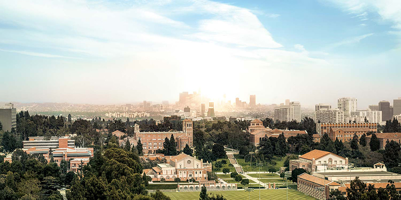 UCLA campus landscape
