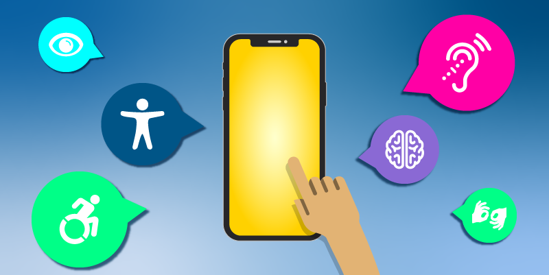 Mobile Accessibility banner
