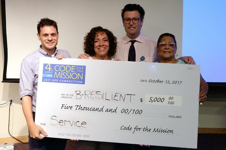 B-RESILIENT App Won Code for the Mission Service Award